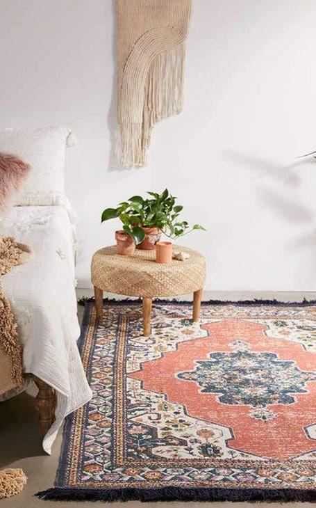 déco chambre tapis oriental