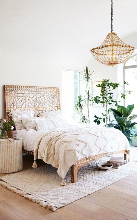 décoration chambre nature