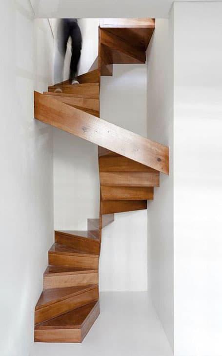 design escaliers en bois