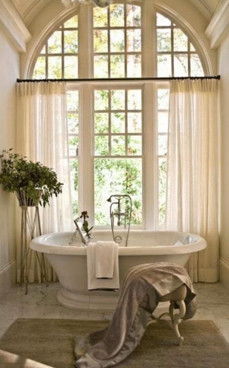 salle de bain charme français
