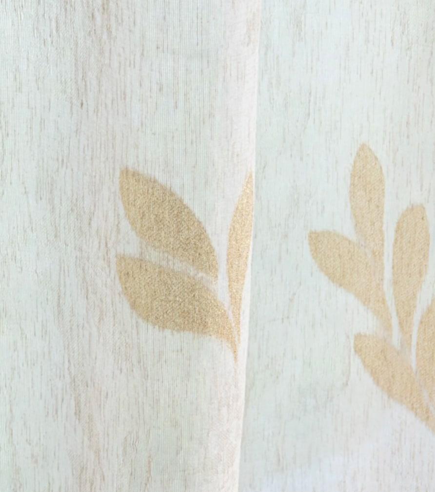 Voilage ARMANE motifs feuilles