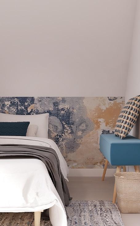 tête de lit peinture