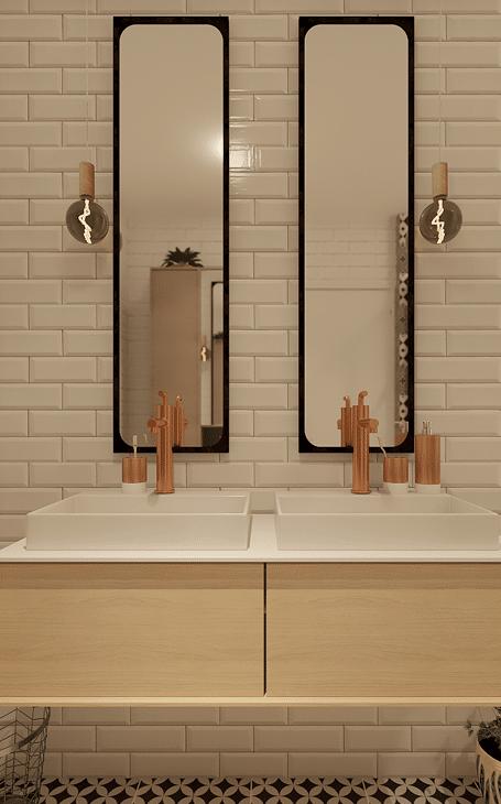 salle de bains style industriel 32280