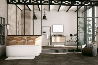 salle de bains style industriel