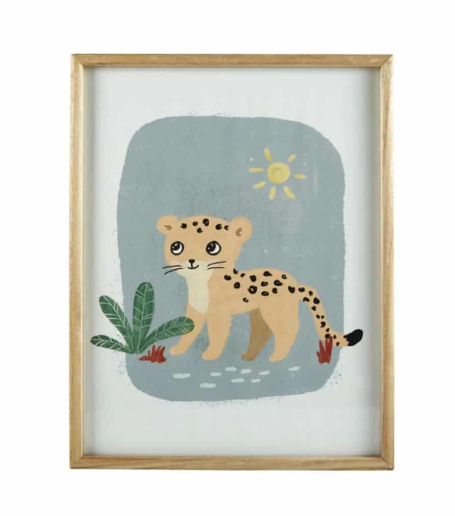 Tableau léopard