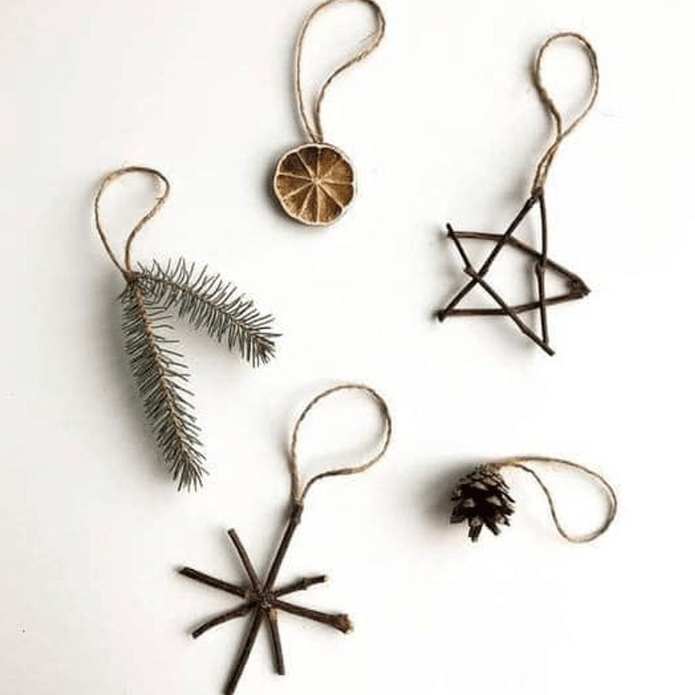 décorations noël naturelle
