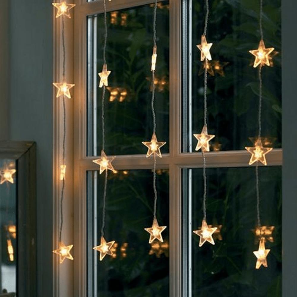décorations noël fenêtres