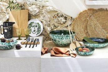 décoration vaisselle