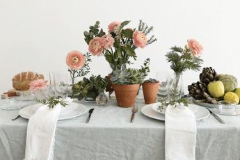 déco table printemps