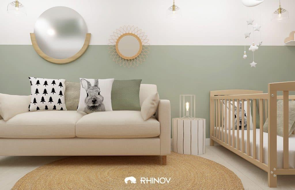 décoration murs chambre bébé