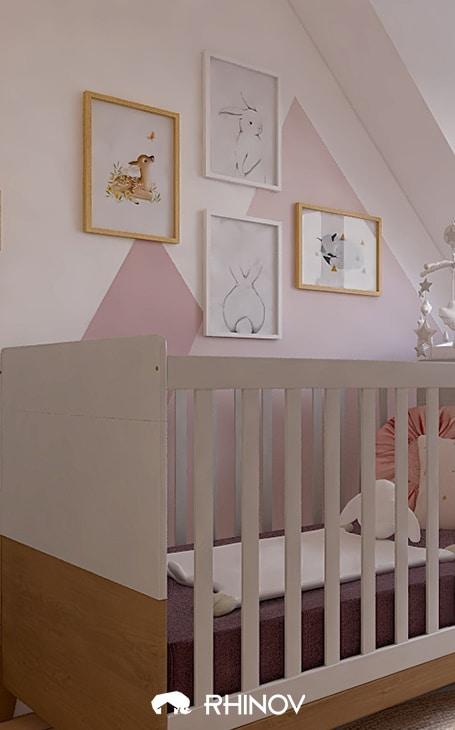 déco murs chambre bébé
