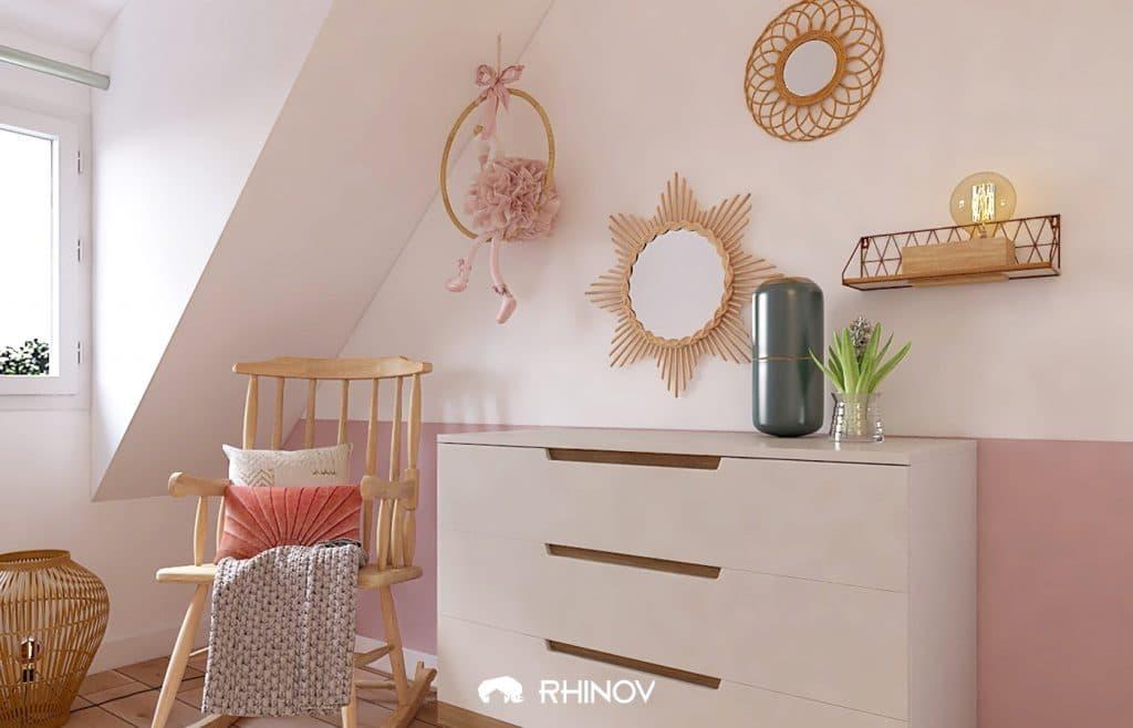 déco mural chambre bébé