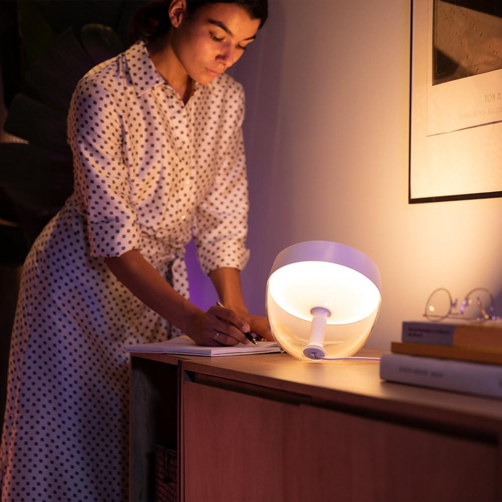 lampadaire connecté