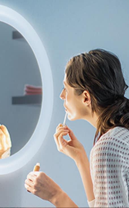 miroir connecté
