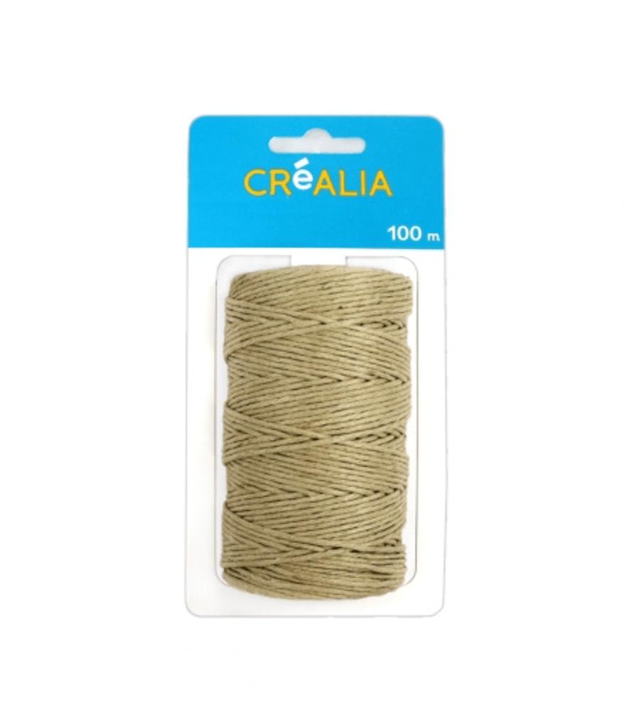 1 ficelle kraft naturelle - Créalia