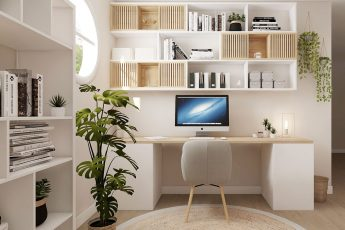pinterest bureau etagères et organisation