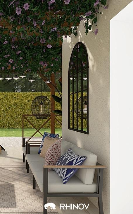 terrasse canape