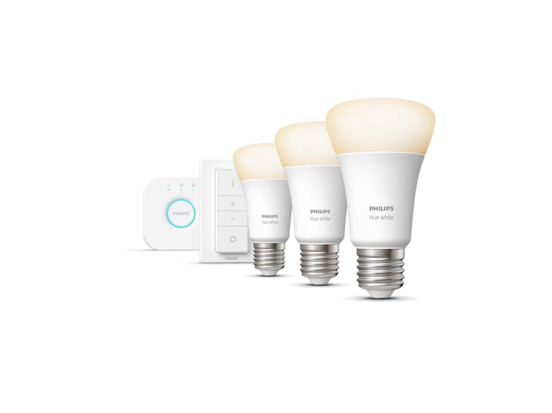Kit de démarrage E27 - Philips Hue lumière blanche et chaude