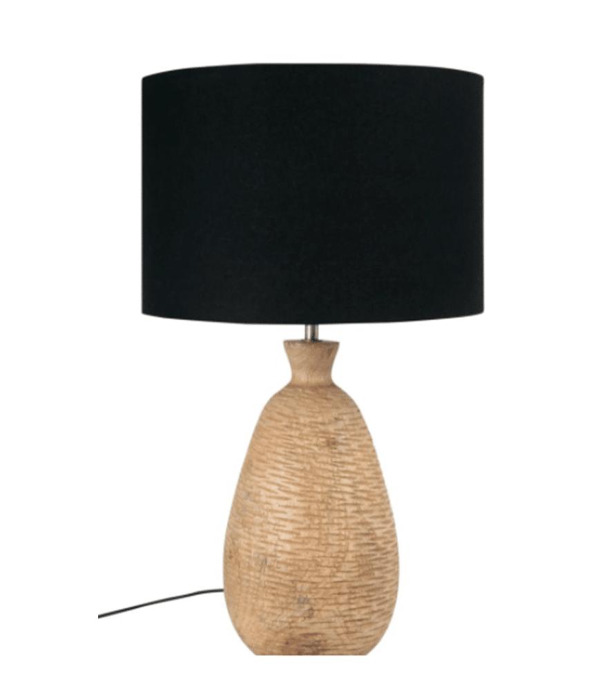 KARABA - Lampe en manguier