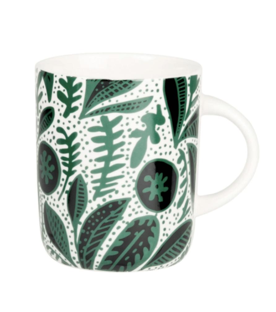 KEMBE - Mug motif végétal