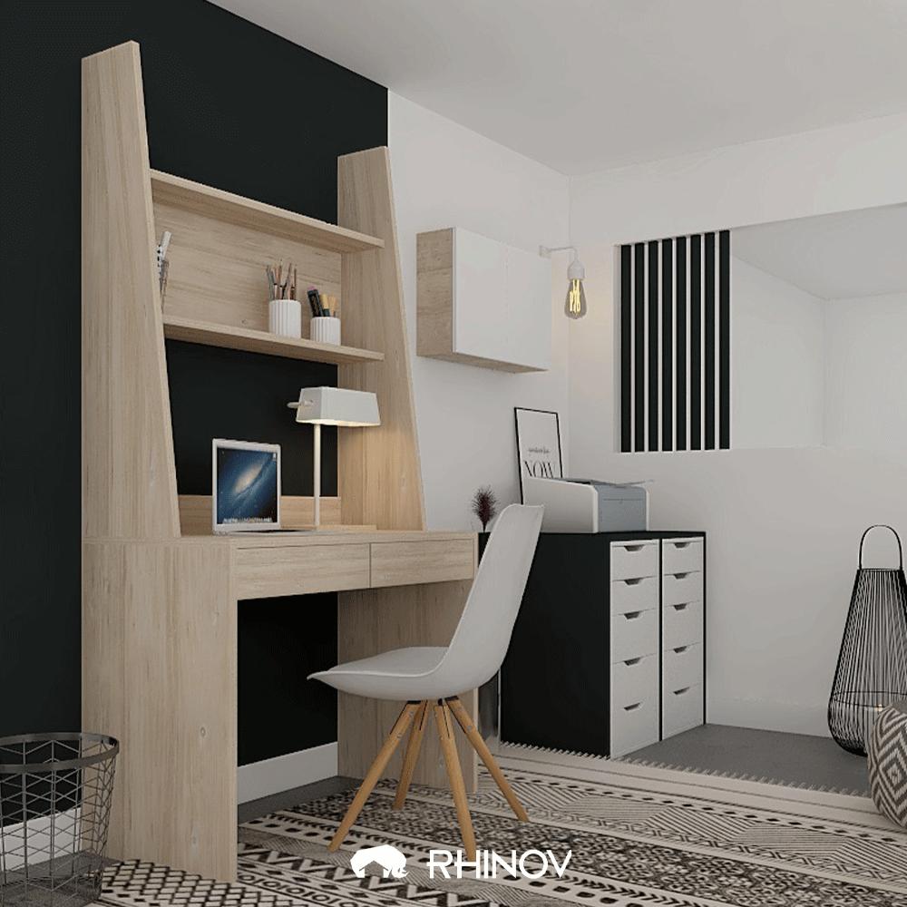 aménagement petit bureau