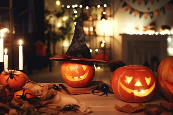 déco halloween diy avec des citrouilles